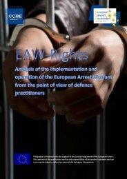 EN_CRM_20161117_Study-on-the-European-Arrest-Warrant