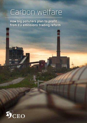 Carbon welfare