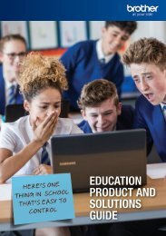Education Product and Solution Guide