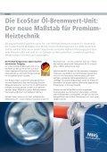 Die EcoStar Öl-Brennwert-Unit - MHG Heiztechnik - Seite 2
