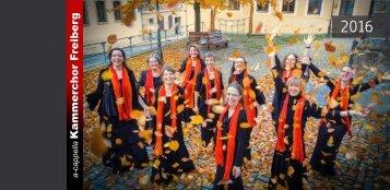 A-cappella-Kammerchor Freiberg Konzerte 2016