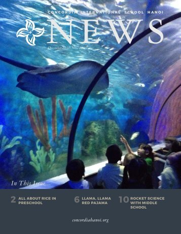 Concordia Hanoi News December 2016