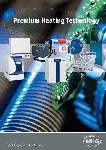 Technical data - MHG Heating
