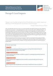 Precept 5 Local Impacts