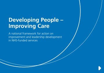 Developing People – Improving Care