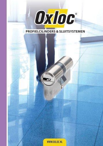 Oxloc brochure Profielcilinders & sluitsystemen