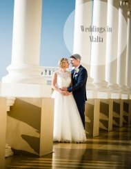 Master Brochure - MA - Weddings in Malta