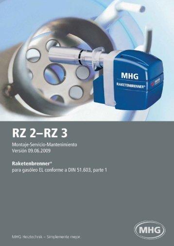 8. Mantenimiento - MHG Heiztechnik