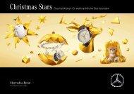 Unsere Christmas Stars von Mercedes-Benz