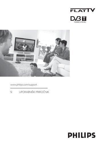 Philips Téléviseur à écran large - Mode d'emploi - SLV