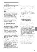 Philips Téléviseur à écran large - Mode d'emploi - SLV - Page 7