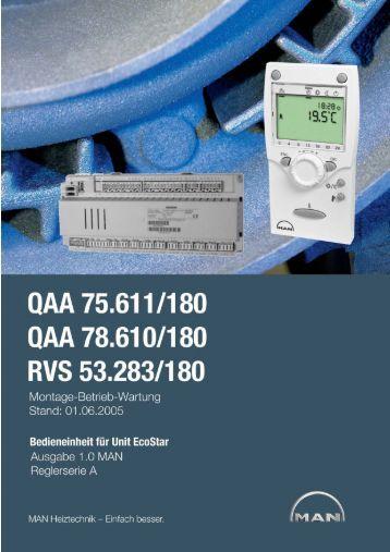 3.2 Grundgerät RVS53.283 - MHG Heiztechnik