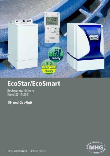 Bedienungsanleitung EcoStar/EcoSmart - MHG Heiztechnik