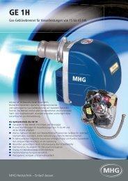 3148 Flyer GE 1H 0508.indd - MHG Heiztechnik