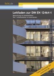 Leitfaden zur DIN EN 12464-1
