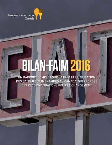BILAN-FAIM 2016