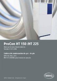 7. Documentación Técnica - MHG Heiztechnik