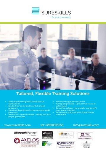 Training Schedule Jan - June Belfast