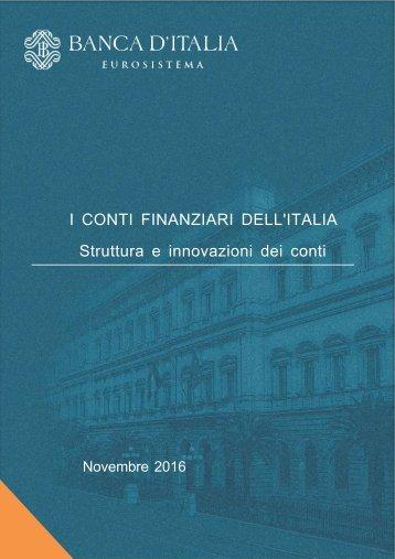 Struttura e innovazioni dei conti