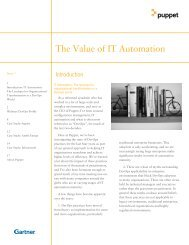 The Value of IT Automation