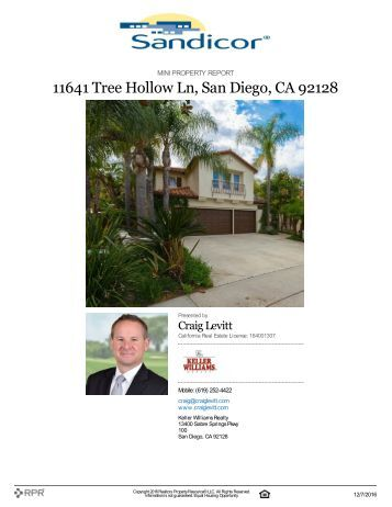 11641 Tree Hollow Ln San Diego CA 92128