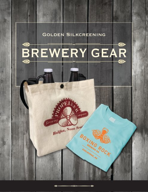 Brewery Catalogue 2016