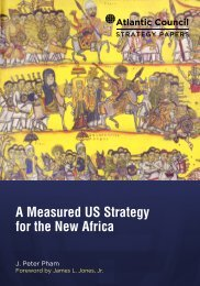 A Measured US Strategy for the New Africa