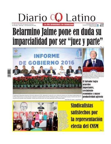 Edición 07 de Diciembre de 2016