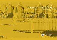Grange Farm West Cambridge Vision Document
