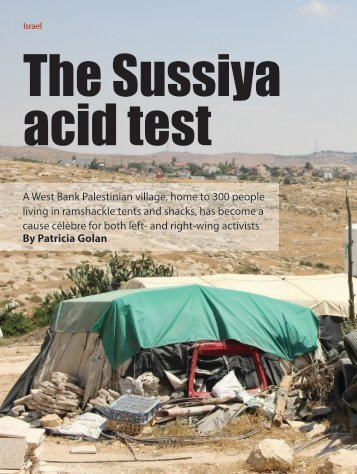 The Sussiya acid test
