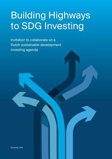 to SDG Investing