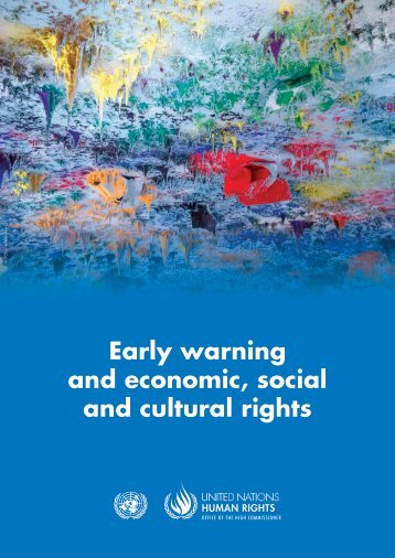 Early warning and economic social and cultural rights
