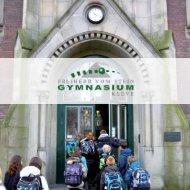 Broschüre Freiherr-vom-Stein-Gymnasium Kleve