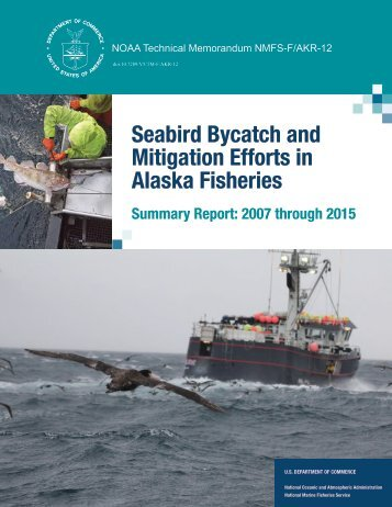 Seabird Bycatch and Mitigation Efforts in Alaska Fisheries