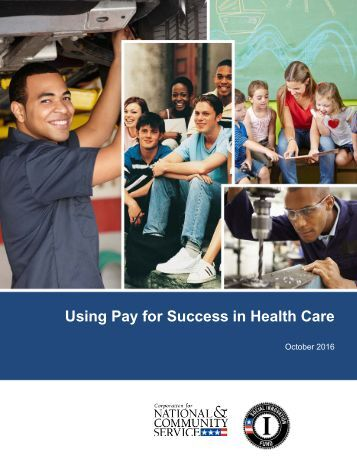 Using Pay for Success in Health Care