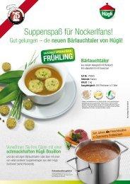 Bouillons, die perfekte Basis für den Suppengenuss - bei Hügli Food ...