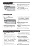 Philips Flat TV 16/9 - Mode d'emploi - FIN - Page 7