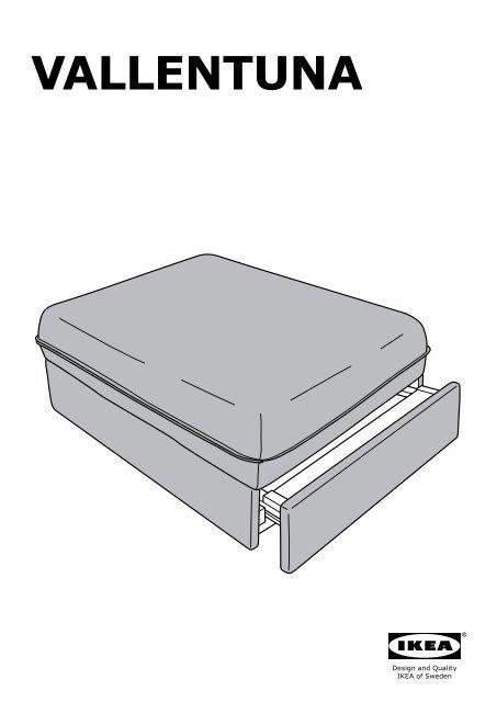Ikea Vallentuna Divano A 4 Posti Con Letto S19161390