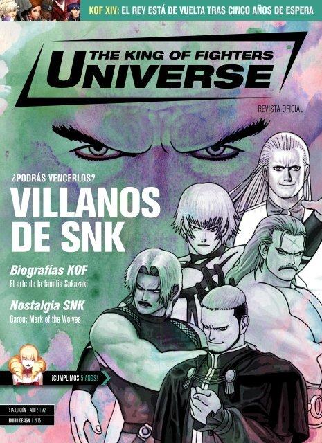 Revista KOF Universe 5