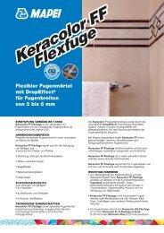 Keracolor FF Flexfuge Keracolor FF Flexfuge CG2 - Mapei