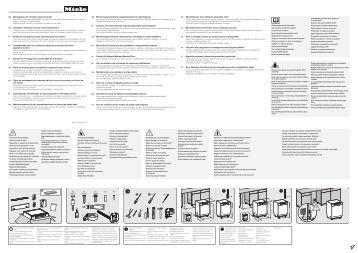 Miele G 4930 SCU Jubilee - Schema di montaggio