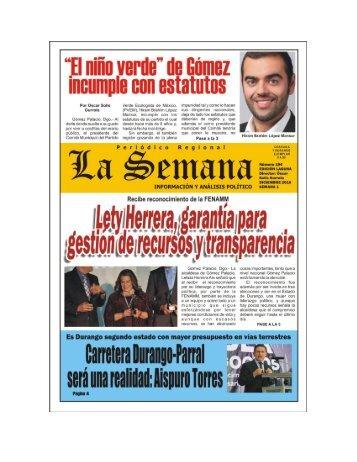 Periodico #194 Diciembre (Primer Semana)