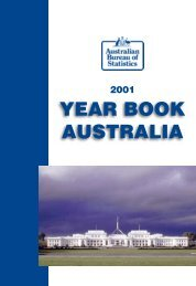 Australia Yearbook - 2001
