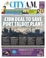 £1BN DEAL TO SAVE PORT TALBOT PLANT