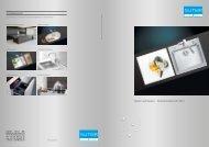 Spülen und Becken: Sortimentsübersicht 2012 - Suter Inox AG