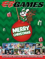EB GAMES XMAS CATALOGUE AU 2016 PT 1 OF 3