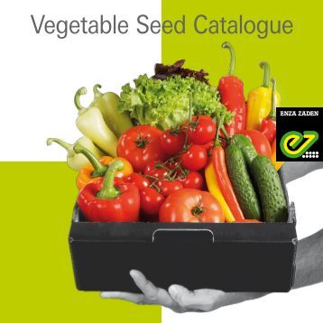 Vegetable Seed Catalogue