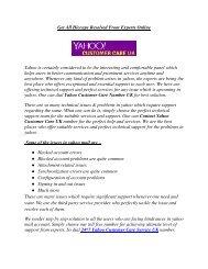 Yahoo Customer Care Service UK   800 098 8745