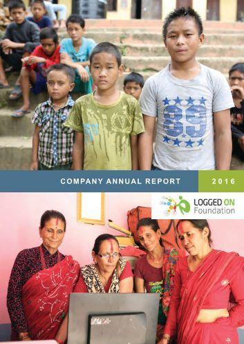 Annual Report Summary 2016
