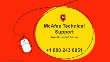 McAfee Technical support PDF